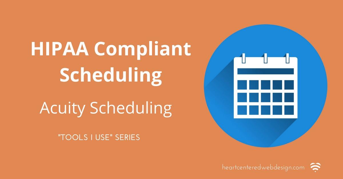 hipaa compliant online scheduling blog post image